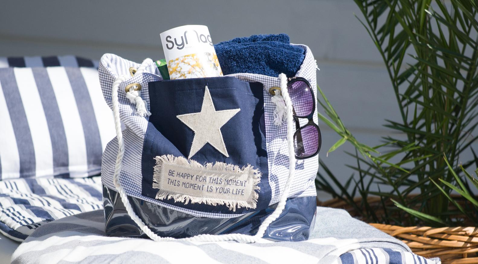 DIY: Sy din egen strandväska