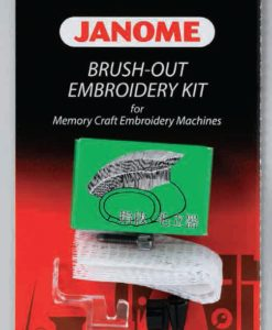 Brush out set - garnbrodering