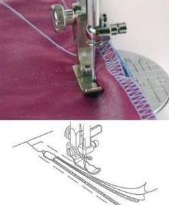 Blixtlåsfot justerbar - smal (1600-serien)
