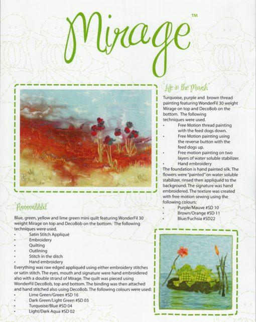 1 st Mirage Färgkarta