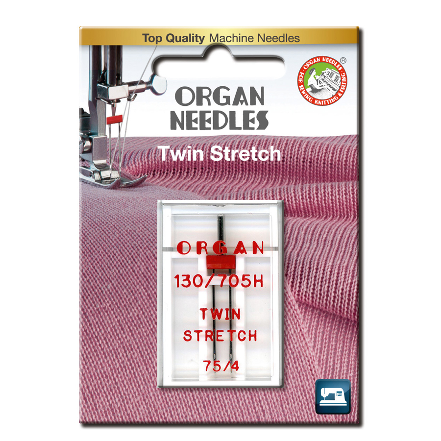 Organ Tvilling Stretch 4,0mm 75, 1-pack
