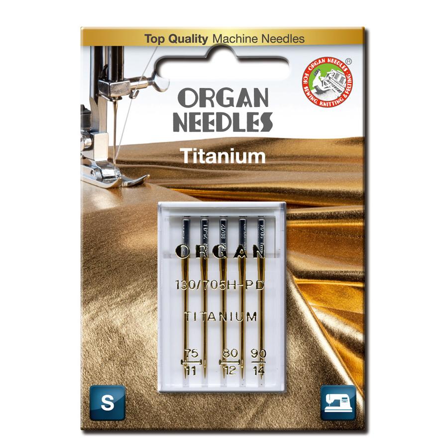 Organ Titanium 75-90, 5-pack