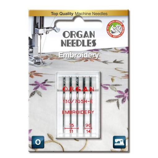 Organ Broderi 75-90, 5-pack