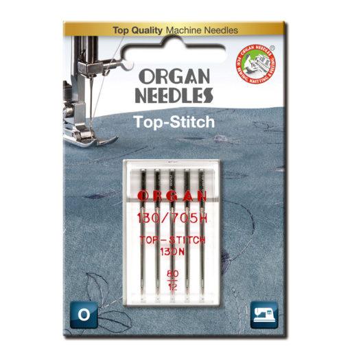 Organ Top Stitch 80, 5-pack