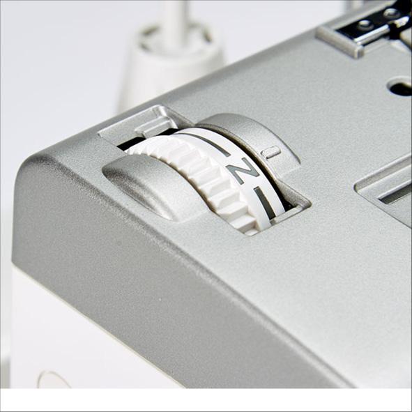 Janome Air Threading 2000D Pressarfotstryck reglage
