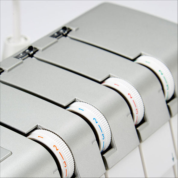 Janome Air Threading 2000D Invändiga trådspännings reglage