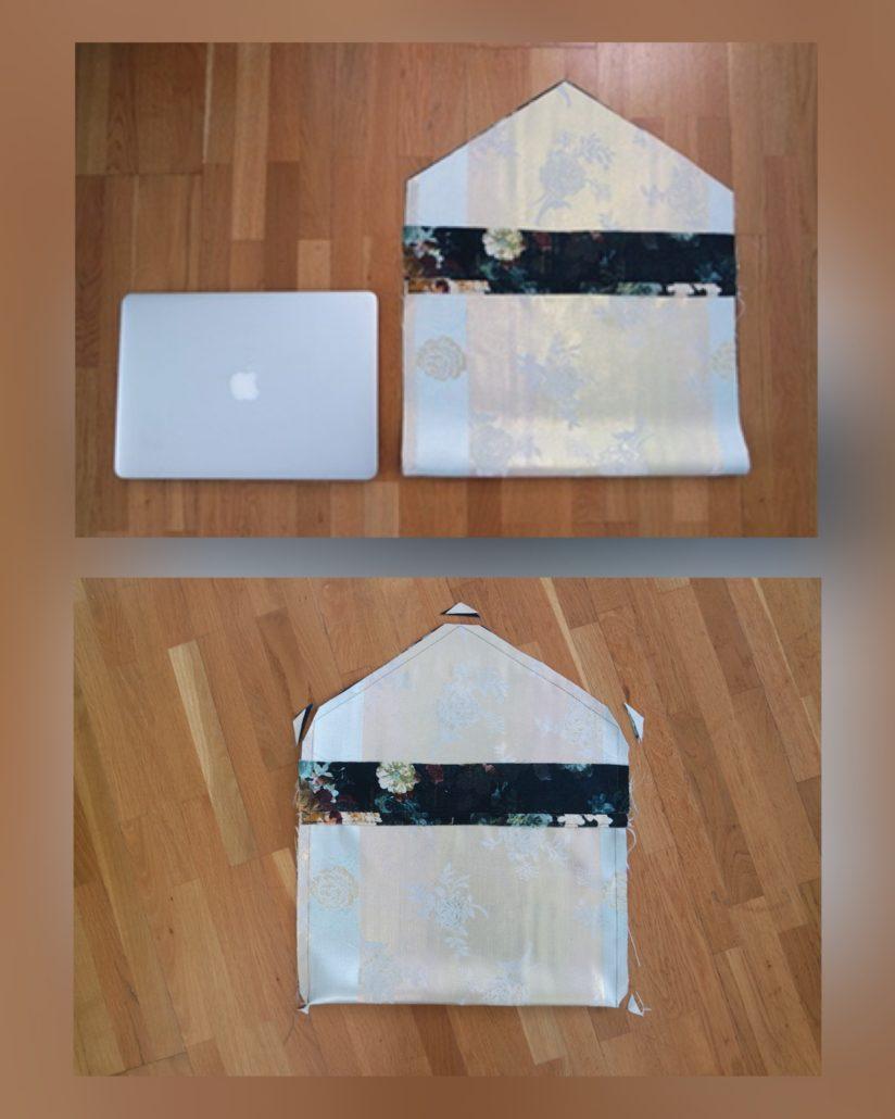 Ingrid Bergtun visar hur du enkelt syr laptop case!