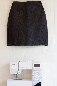Hur du syr en liten väska i skinn med Janome Decor Computer 6030