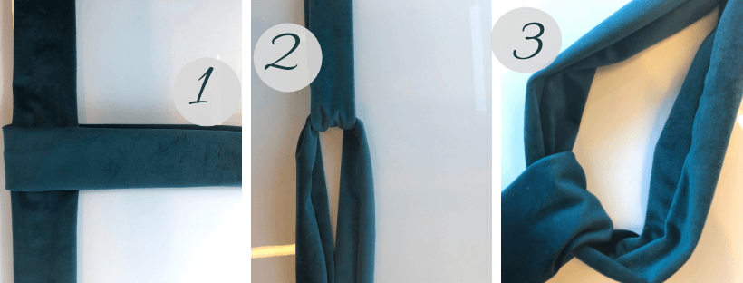 Hur man syr ett hårband